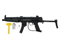 Empire Battle Tested Delta Black Paintball Gun