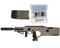 Empire BT D*Fender Paintball Marker with Integrated Loader - Dark Earth
