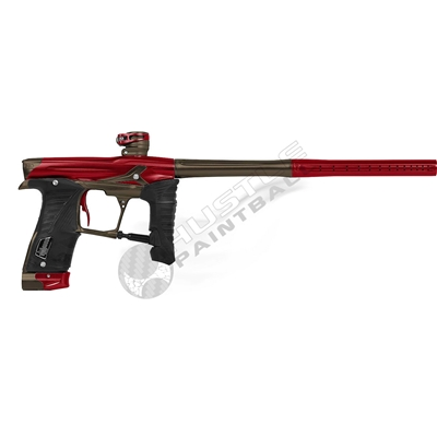 Planet Eclipse Geo3.5 Paintball Gun - Ashes3/Combat3 - Red/Brown