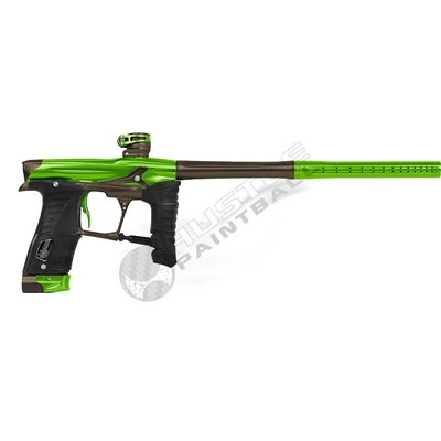 Planet Eclipse Geo3.5 Paintball Gun - Kryptonice/Combat3 - Lime Green/Brown
