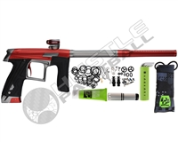 Planet Eclipse Geo CS1 Paintball Gun - Red/Grey