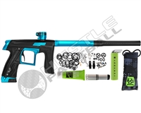 Planet Eclipse Geo CS1 Paintball Gun - Black/Teal