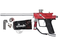Azodin Blitz III Electronic Paintball Marker - Red/Silver
