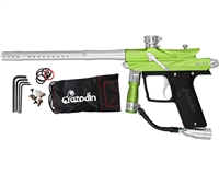 Azodin Blitz III Electronic Paintball Marker - Green/Silver