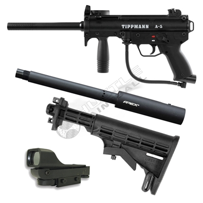 Tippmann A5 Response Assassin Pack