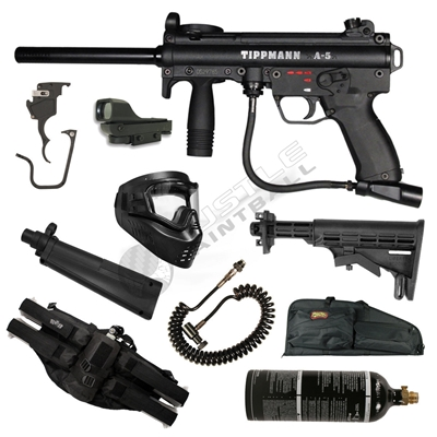 Tippmann A5 E-Grip Hall Effect Raider Pack