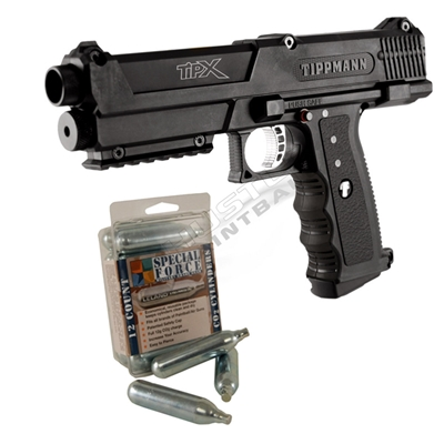 Tippmann TPX Paintball Pistol Recruit Package