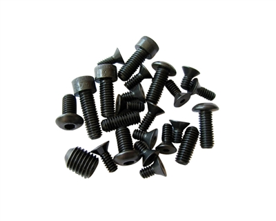 Violent Series - Blackout Screw Kit - Ego 7/8