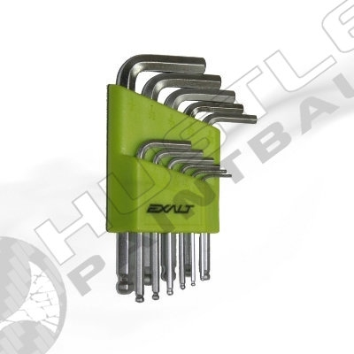 Exalt Paintball Hex Key Set (with ball ends)