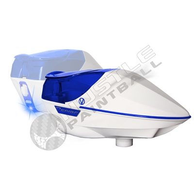 Virtue Paintball Spire Electronic Loader - White/Blue