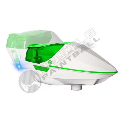 Virtue Paintball Spire Electronic Loader - White/Lime