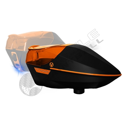 Virtue Paintball Spire Electronic Loader - Black/Orange