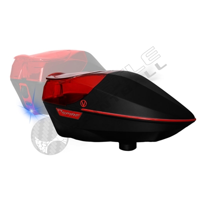 Virtue Paintball Spire Electronic Loader - Black/Red