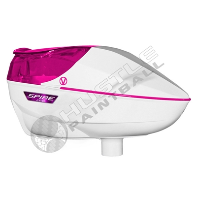 Virtue Paintball Spire 260 Electronic Loader - White/Pink