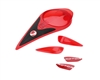 Dye Precision Rotor Loader - Color Kit - Red