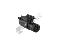 NCStar Tactical Green Laser w/ Quick-Release Weaver Mount - Black - Weaver/Picatinny (AQPTLG)