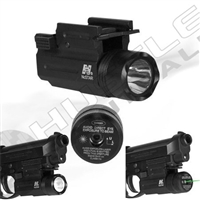 NCStar Compact Green Laser and Flashlight with Quick Release (AQPTFLG)