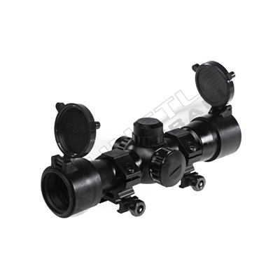 Tiberius Arms 4x32 Range Estimating Scope - Dual Illumination