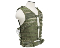 NCStar MOLLE/PALS Vest - Green (CPV2915G)