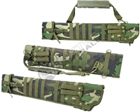 NCStar Tactical Shotgun Scabbard - Woodland Camo (CVSCB2917WC)