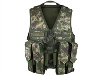 Planet Eclipse Tactical Load Vest - HDE Camo