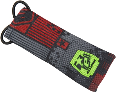 Planet Eclipse Barrel Sock - Pixel Red