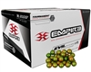 Empire Evil Tournament Grade Paintballs - Case of 2000 - Orange Shell/Orange Fill