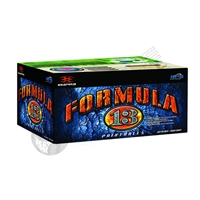 Empire Formula 13 Paintballs - Case of 2000 - Silver/Red Shell/Green Fill