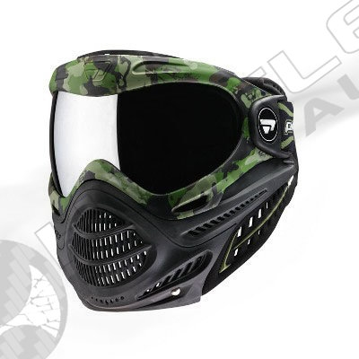 Proto Paintball Switch Axis Pro Mask - Olive Camo