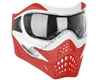 V-Force Grill Mask - Special Edition - White/Red