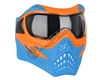 V-Force Grill Mask - Special Edition - Orange/Blue