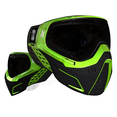 HK Army KLR Thermal Paintball Mask - Neon Green