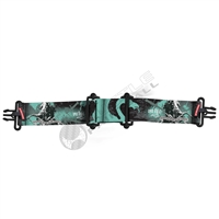 Virtue Paintball VIO Goggle Strap - Dragon Slayer Aqua