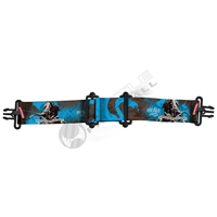 Virtue Paintball VIO Goggle Strap - Dragon Slayer Cyan