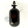 Ninja Paintball 68 cu 4500 psi ''SL'' Carbon Fiber HPA Tank - Super Light - Black