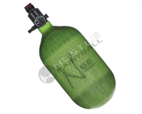 Ninja Paintball 68 cu 4500 psi Carbon Fiber HPA Tank - Translucent Lime