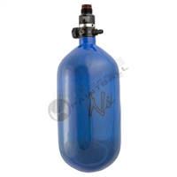 Ninja Paintball 77 cu 4500 psi ''SL'' Carbon Fiber HPA Tank - Super Light - Blue