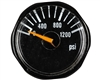 Blackout 25mm Pressure Gauge