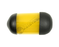 Kalibur Dura-Sleeve Tank Cover - 68 cu - Yellow
