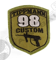 Tippmann Patch with Velcro - Tippmann 98 Custom