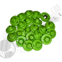 Exalt Paintball TRX Cleat Replacement Set (22 per bag) - Flat Point - Lime