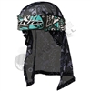 Dye Precision Head Wrap - Eskimo - Teal/Grey/Black