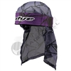 Dye Precision Head Wrap - Infused - Purple/Black/Grey