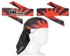 HK Army Headband/Headwrap - Rising Sun - Black