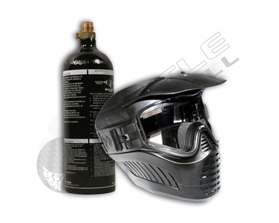 Gen X Global Stealth Goggle & 20 oz CO2 Tank