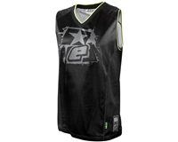Basketball Jersey - Planet Eclipse - Black