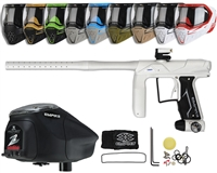Empire Axe Pro Paintball Gun, EVS Googles & Z2 Paintball Loader Combo Kit