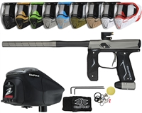 Empire Axe 2.0 Marker, EVS Googles & Z2 Paintball Loader Combo Kit