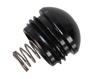 Empire Mini Ball Detent with Cover and Spring Only - Polished Black