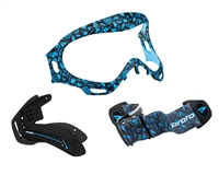 Axis Pro Mask Color Package - Hollywood Aqua - Proto